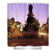 Oconnell Street, Dublin, Ireland Shower Curtain