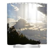 October's Radiance 2012 Shower Curtain
