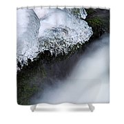 Of Ice And Water Shower Curtain