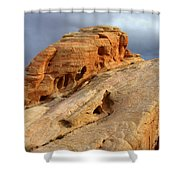 Of Light And Stone Shower Curtain