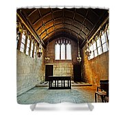 Of Stone And Wood Shower Curtain