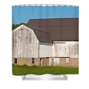 Off Akron Road Shower Curtain