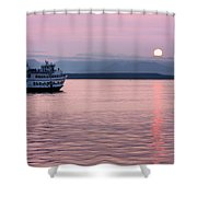 Off Into The Sunset Shower Curtain