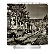Off Track Shower Curtain