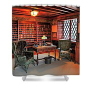 Office At Gillette Castle Shower Curtain