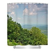 Oh Beautiful For Spacious Skies Shower Curtain