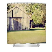 Ohio Shed Shower Curtain