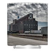 Ohio Street Mill Shower Curtain