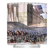Ohio: Union Parade, 1861 Shower Curtain