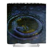 Oily Drop Shower Curtain