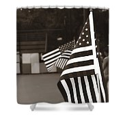 Ojai Memorial Day  Shower Curtain