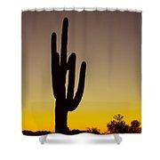 Okay Sunrise Shower Curtain
