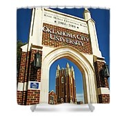 Oklahoma City University Shower Curtain