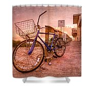 Ol' Bike Shower Curtain