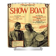 Ol Man River Shower Curtain