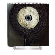 Old Ancient Shoemaker Brush  Shower Curtain