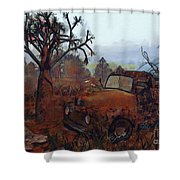 Old And Forgotten Shower Curtain