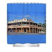 Old Aussie Pub Shower Curtain