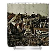 Old Beerz Shower Curtain