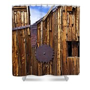 Old Building Bodie Ghost Town Shower Curtain