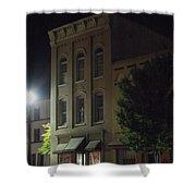 Old Building In Calhoun Ga Shower Curtain