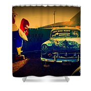 Old Chevrolet On Route 66 Shower Curtain