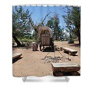 Old Chuck Wagon Shower Curtain