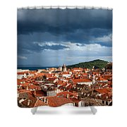 Old City Of Dubrovnik Shower Curtain