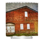 Old Coca Cola Building Shower Curtain