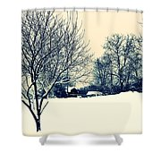 Old Country Christmas 3 Shower Curtain