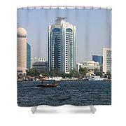 Old Dubai Shower Curtain
