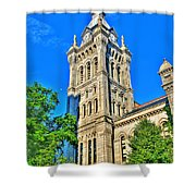 Old Erie County Hall Shower Curtain