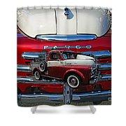 Old Fargo Pick Up Truck Shower Curtain