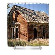 Old Farm Homestead - Woodland - Utah Shower Curtain
