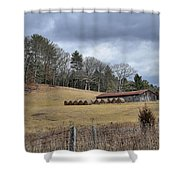 Old Farm Shower Curtain