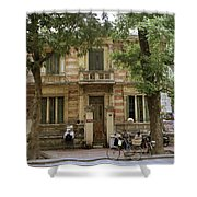Old Fashioned Hanoi Shower Curtain