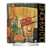Old Fashioned Poster Shower Curtain
