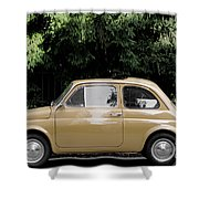 Old Fiat Shower Curtain