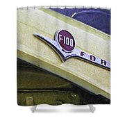 Old Ford Pick-up Shower Curtain