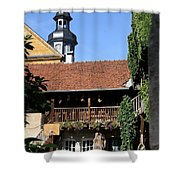 Old Franconian House Shower Curtain