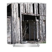 Old Frisco Barn Shower Curtain