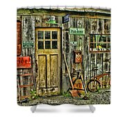 Old General Store Hdr Shower Curtain
