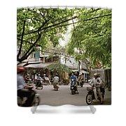 Old Hanoi Life Shower Curtain