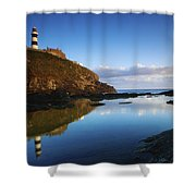 Old Head Of Kinsale, County Cork Shower Curtain