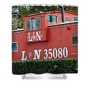 Old Helena's L And N Shower Curtain