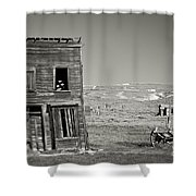 Old House In Bodie Shower Curtain