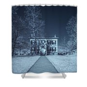 Old  House Infrared Shower Curtain