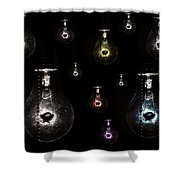 Old Ideas Shower Curtain