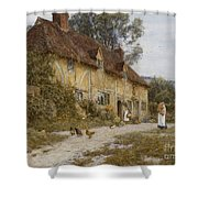 Old Kentish Cottage Shower Curtain