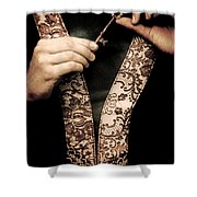 Old Key Shower Curtain by Joana Kruse